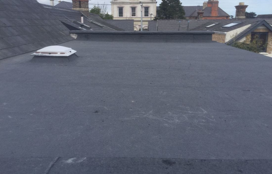 After Flat Roof Repairs Dublin