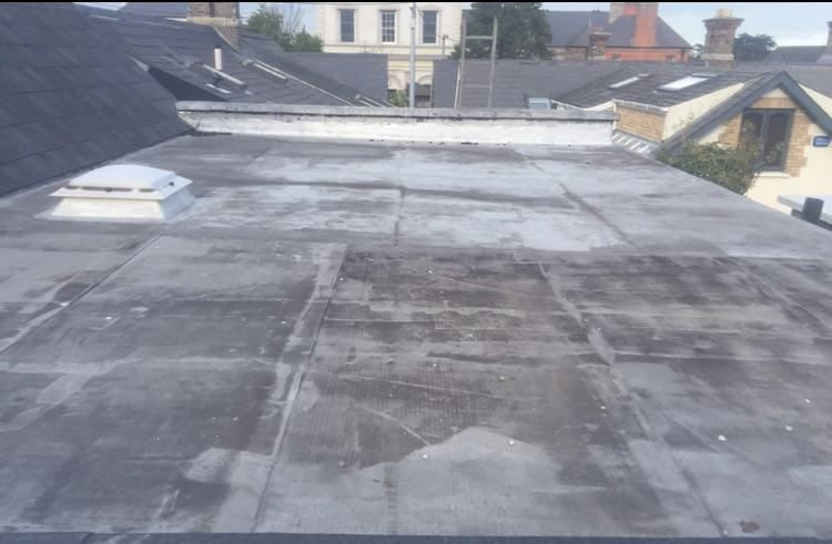 Flat Roof Install and Repair Torch on Felt Dublin