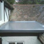 Fibreglass flat roofing installation in Dublin