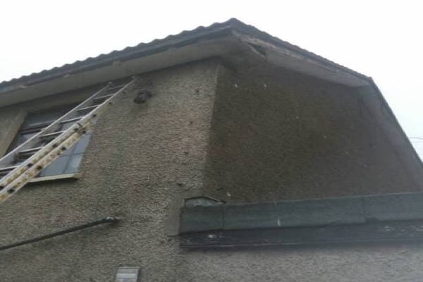 2 Storey House Fascia Soffit Repair in Dublin