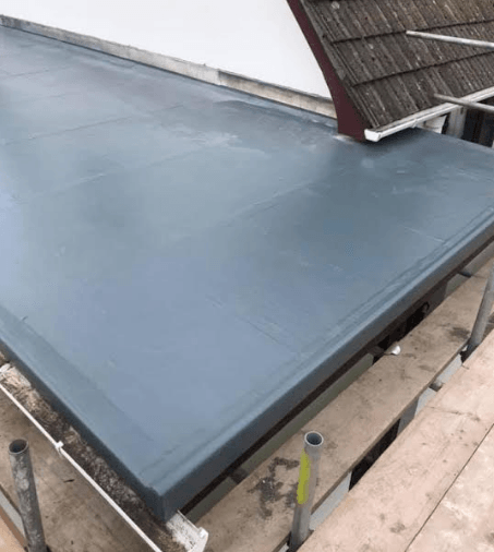 repairing a flat roof in Dublin