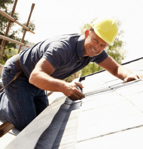 Roofer working for Dublin City Roofers